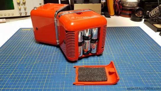 Brionvega TS 502 battery door fixed