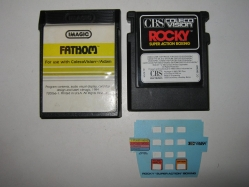 ColecoVision Cartridges - Rocky & Fathom