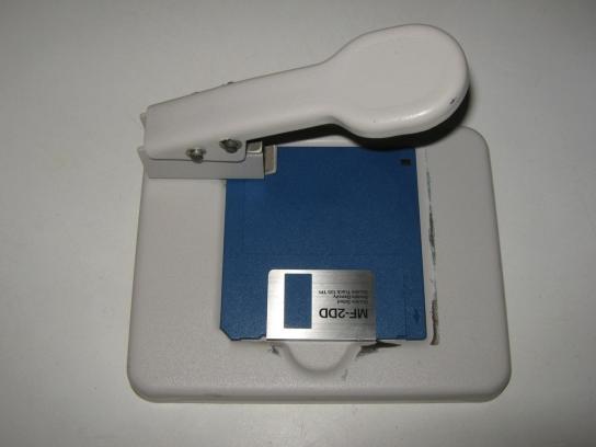 Disk Notcher 720k to 1.44Mb