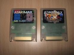AtariMax cartridges (1MBit / 8MBit)