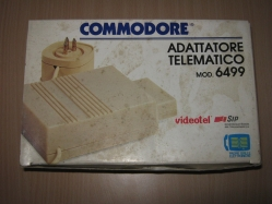 Commodore Adattatore Telematico Mod. 6499