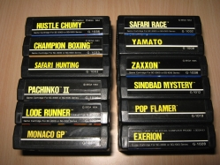 Sega SC-3000 Cartridges