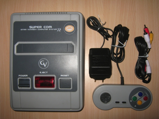 Super Com 72  (Nes on a Chip)