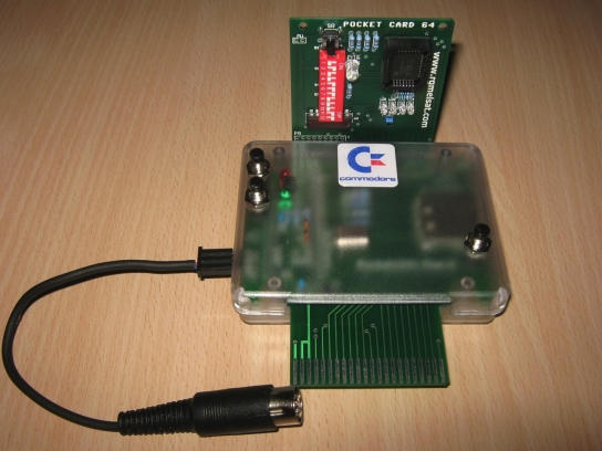 Pocket 1541 Plus + PocketCard 64