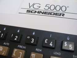Schneider VG-5000 (close-up)