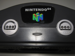 Nintendo 64 (close-up)