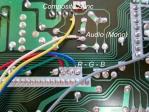 RGB + Synch Amplifier Circuit (Connections Descriptions)