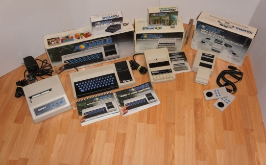 Mattel (Radofin) Aquarius & some external Devices (Boxed)
