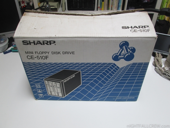 Sharp Mini Floppy Disk Drive CE-510F + MZ-1E05 (Boxed)