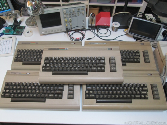 Commodore 64 in bad state (not working) for Spare Parts