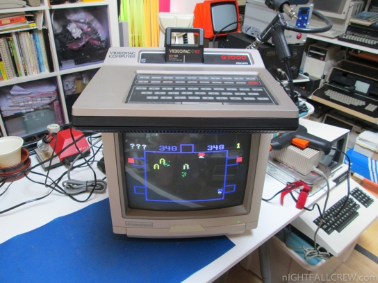 Philips Videopac G7000 with RGB Output