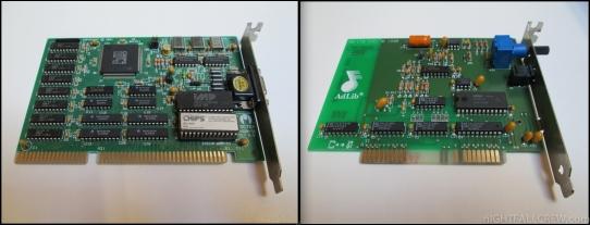 VGA ISA 8/16 BIT and ADLib ISA 8 BIT