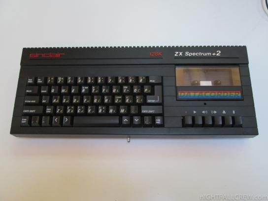 Sinclair Spectrum 128k +2A (Black) Arabic Version