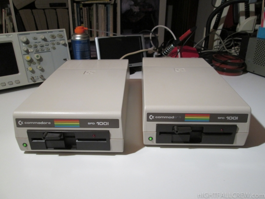 Floppy Drives Commodore SFD-1001