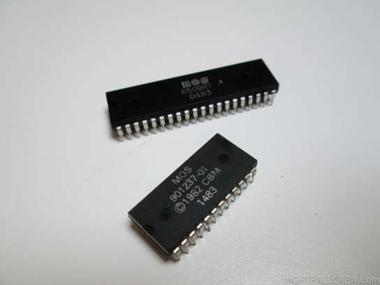 Characters rom & CPU 6509A
