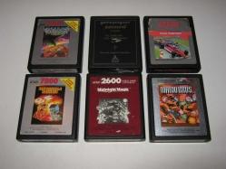 Some Cartridges Atari 2600 & 7800