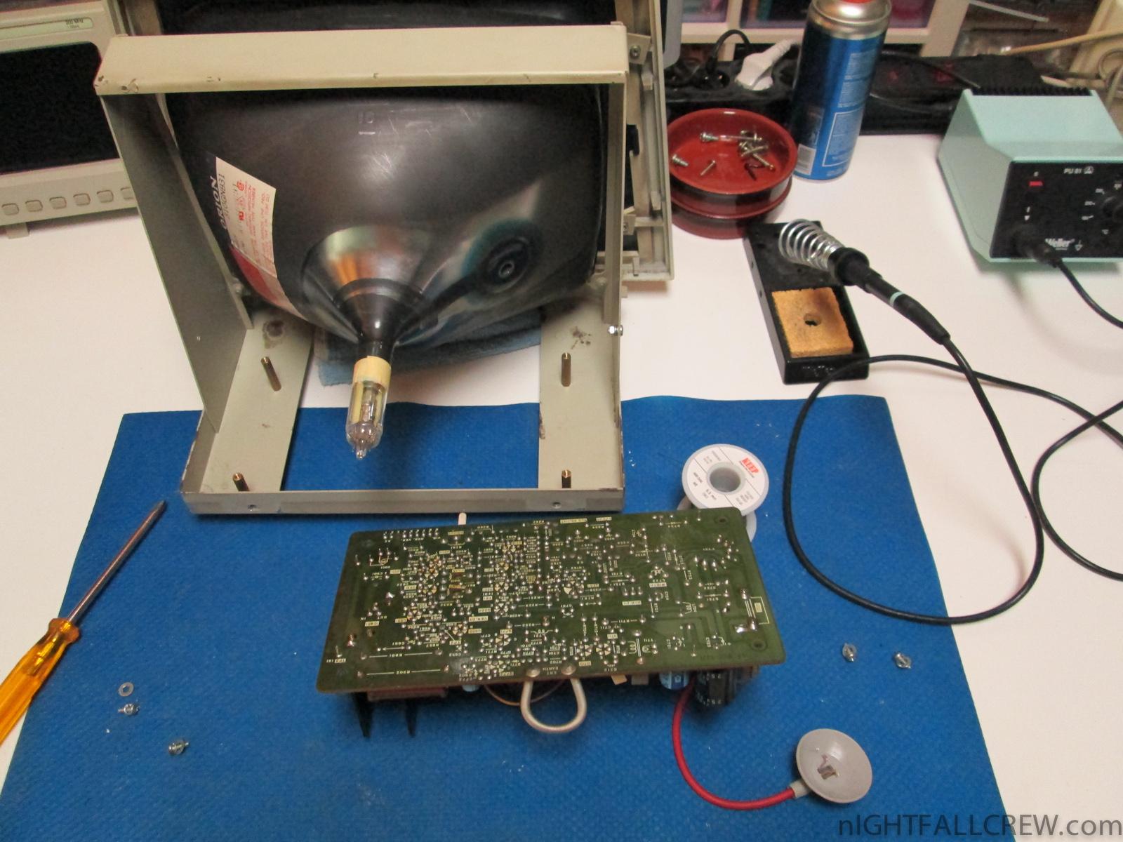 Commodore 4032 Fat40 8032 Crt Replacement Nightfall Blog Cathode Ray Tube Cbm