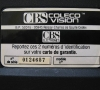 CBS Coleco Vision close-up
