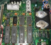 Commodore 1541 Single  Floppy Disk (motherboard detail)