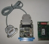 RS232c Interface and Eprom test Board for Commodore 64