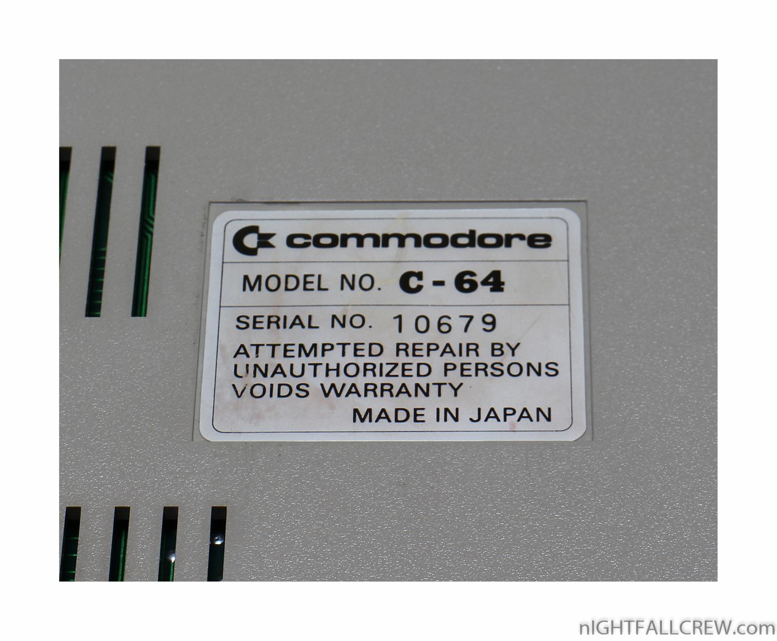 Japanese Commodore 64   nIGHTFALL Blog / RetroComputerMania com