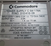 Commodore 64 Ram Expansion 1764 Power Supply (close-up)