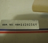 Commodore64C Serial Number close-up