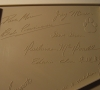 Commodore Amiga 1000 (signature from the top cover)