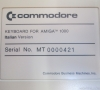 Commodore Amiga 1000 Keyboard (Italian)