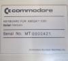 Commodore Amiga 1000 Keyboard (Italian)
