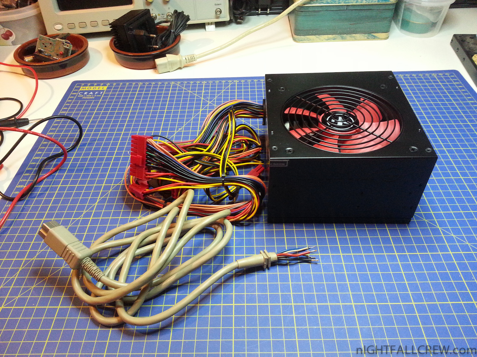 My Amiga 1200 Recapped + E127R Fix + ATX Power Supply | nIGHTFALL ...