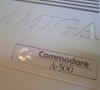 Commodore Amiga 500 (close-up)