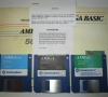 Commodore Amiga 500 (manuals and startup disks)