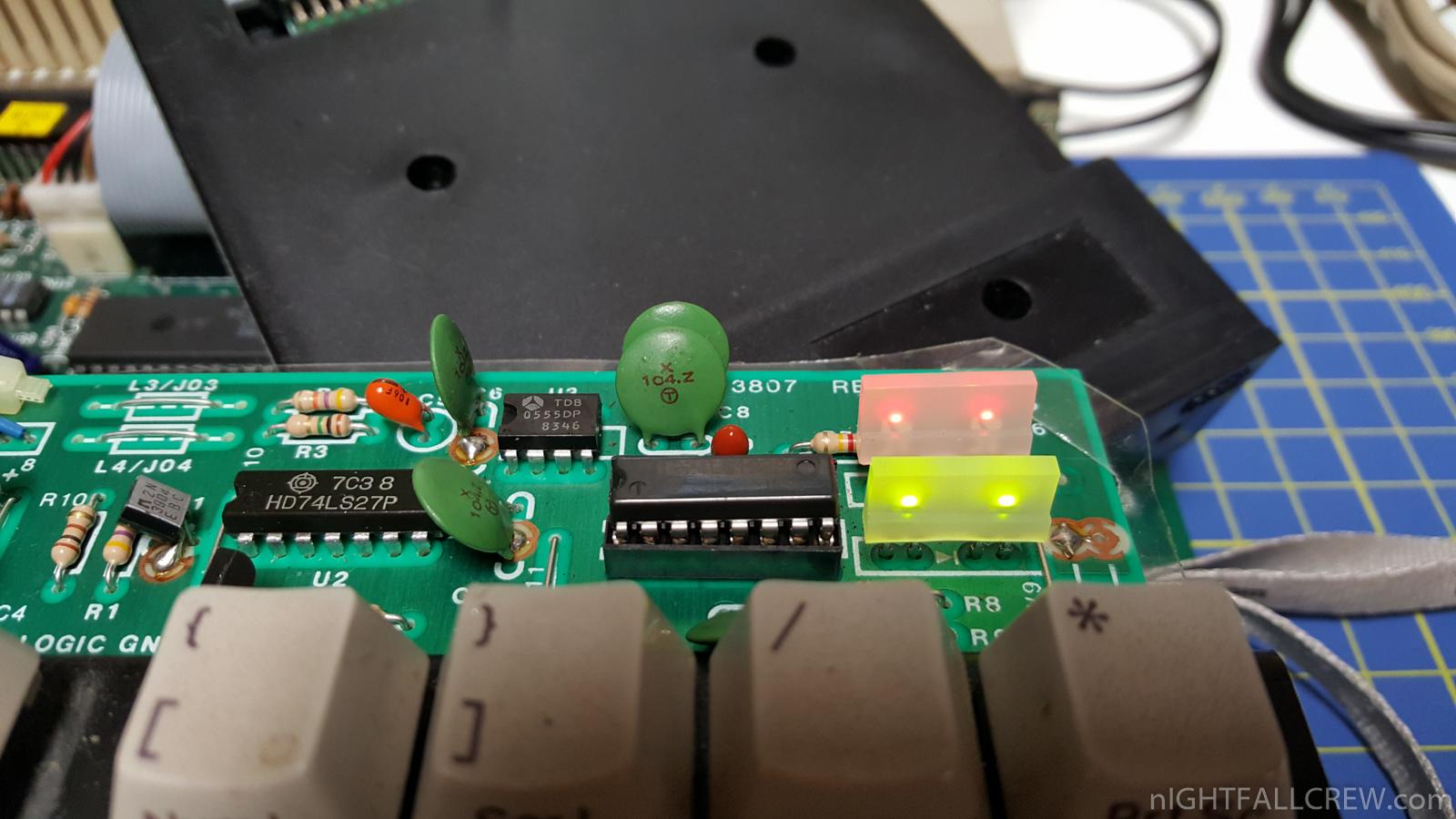 2 x Commodore Amiga 500 Keyboard Repair | nIGHTFALL Blog
