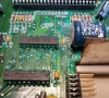 Commodore Amiga 500+ that has seen better days (Recovery Components)