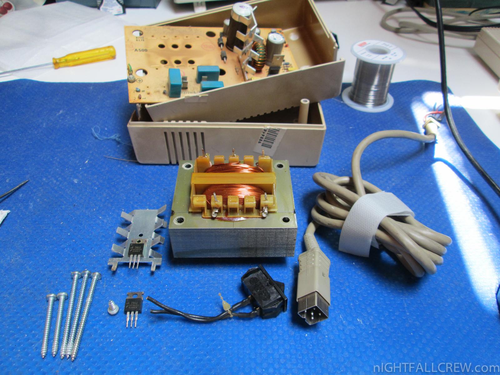 Commodore Amiga 500/600 PSU Repair | nIGHTFALL Blog ...