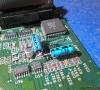 Commodore Amiga 600 (where are the capacitors and the tracks ?)