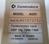 Commodore Amiga TV-Modulator 520