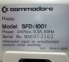 Commodore SFD-1001 (rear side close-up)