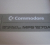 Commodore MPS 1270A (details)