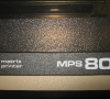 Commodore Matrix Printer MPS 801 (close-up)