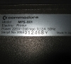 Commodore Matrix Printer MPS 801 (Serial Number)