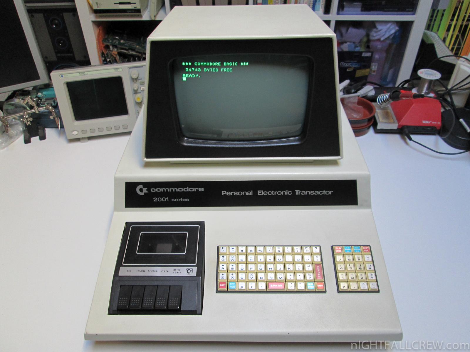 Commodore PET 2001-8C (Chiclet Keyboard) | nIGHTFALL Blog ...