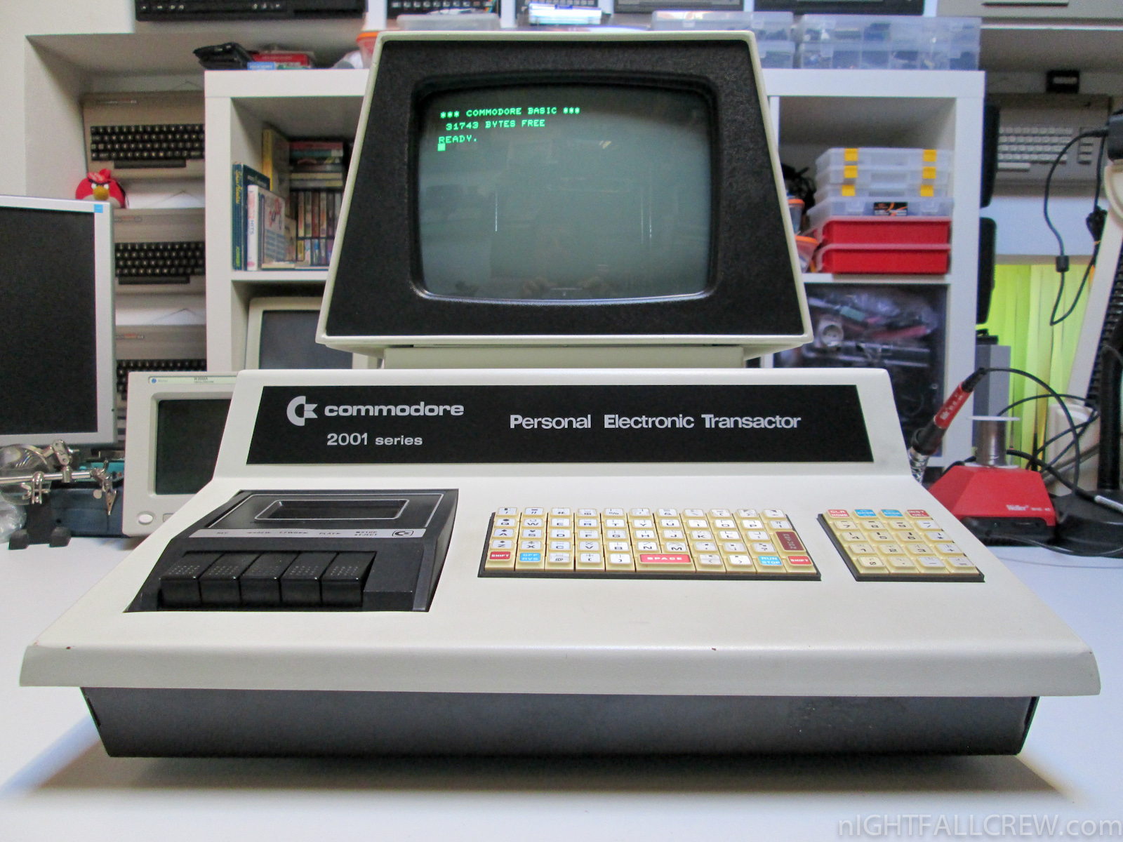 Commodore PET 2001-8C (Chiclet Keyboard) | nIGHTFALL Blog ...