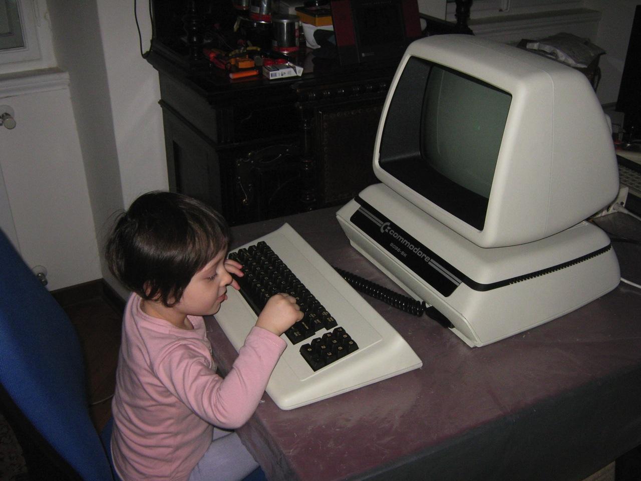 Commodore PET CBM 8096-SK (Low serial number: WG #01234) | nIGHTFALL ...