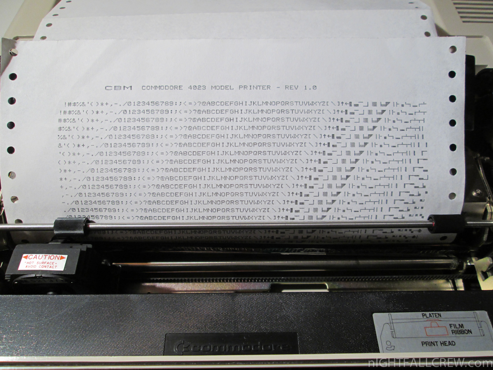 Commodore Printer 4023 (IEEE 488) | nIGHTFALL Blog