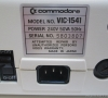 Commodore Single Drive VIC 1541 (rear side)