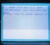 Commodore SX-64 testing keyboard