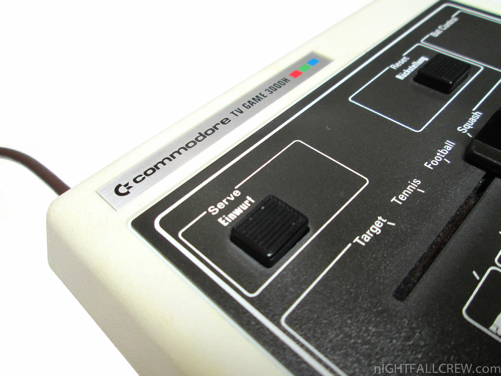 commodore tv game model 3000h  pong clone