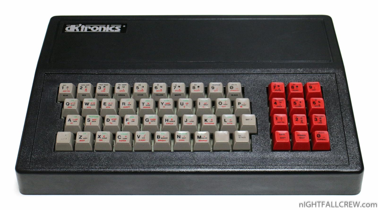 Dk Tronics Keyboard For Sinclair Zx Spectrum Nightfall
